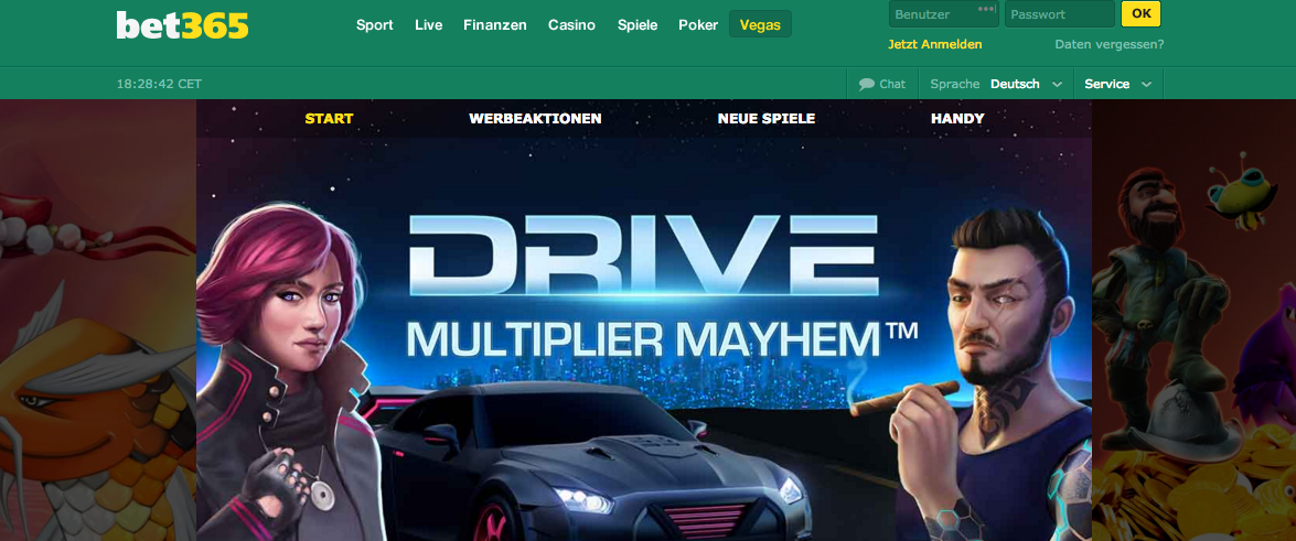 drive multiplier mayhem spielen