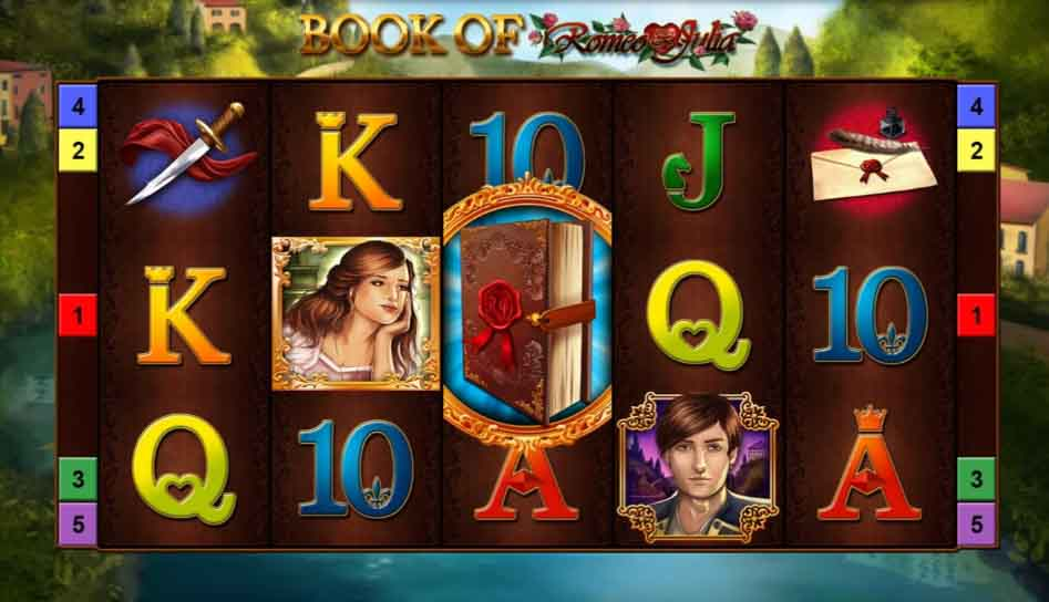 book of romeo and julia slot