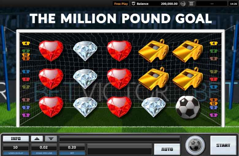 million pound goal slot