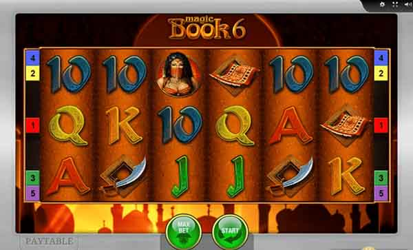 magic book slot