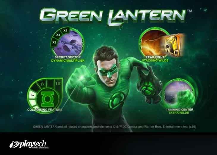 green lantern slot