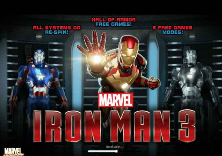 ironman3 slot