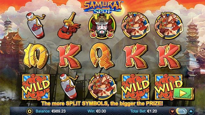 samurai splt slot