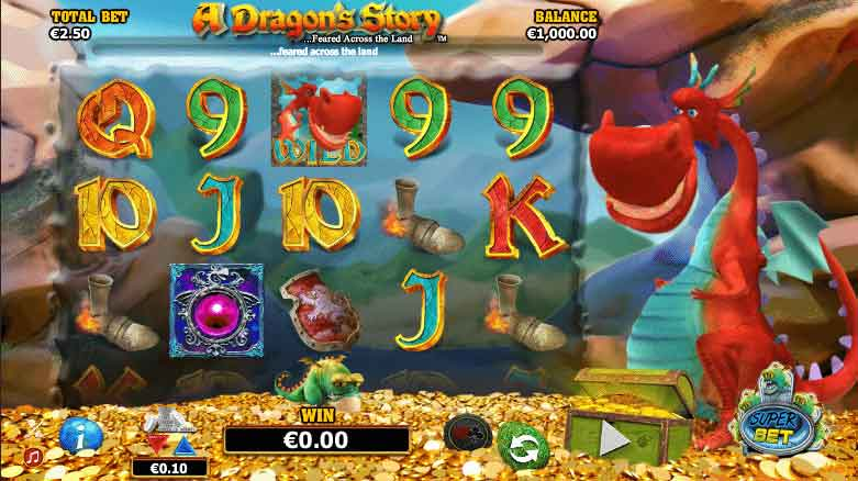 A Dragons Story Slot