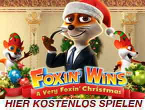 Foxin Wins Christmas Slot