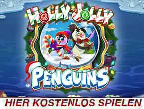 holly jolly penguins slot