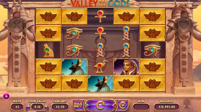 valley of the gods slot-