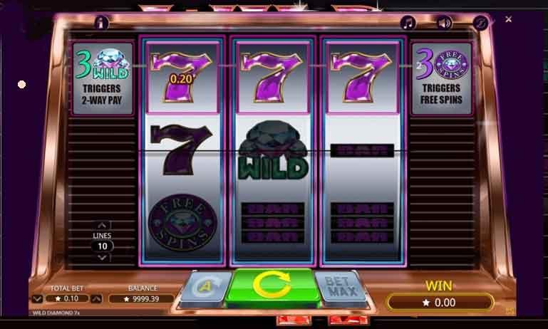 Wild Diamond x7 Slot