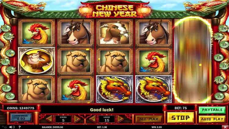Der Chinese New Year Slot von PlayNGo