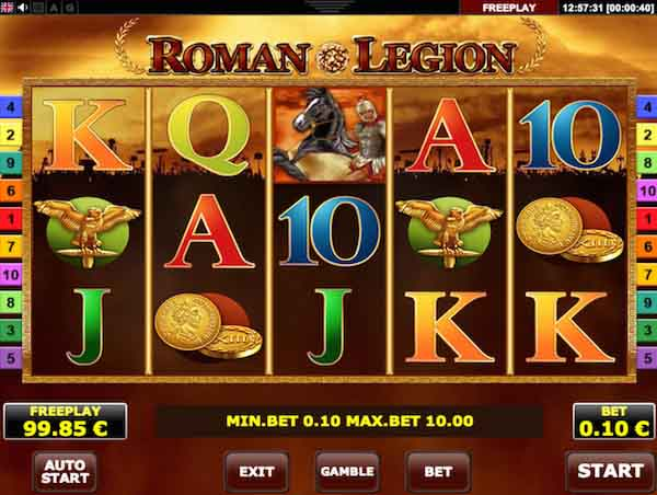 romans legion slot