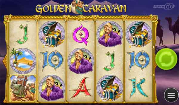 golden caravan slot