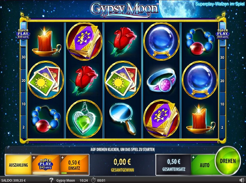 gipsy moon slot