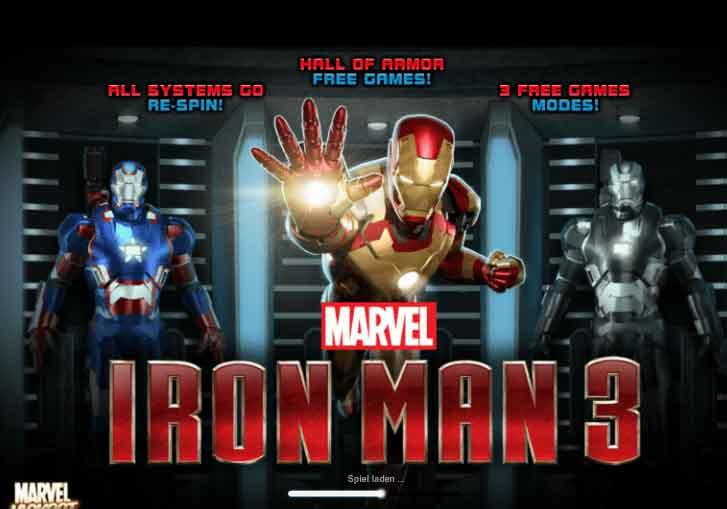 ironman3 slot