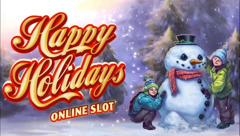 happy hollydays online slot