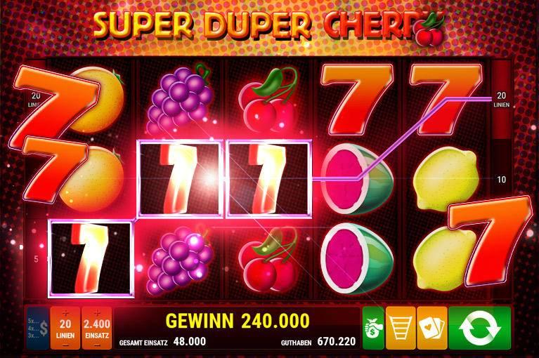 uper Duper Cherry Slot