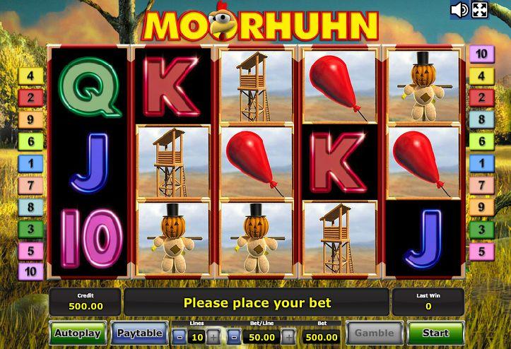 book of moorhuhn slot