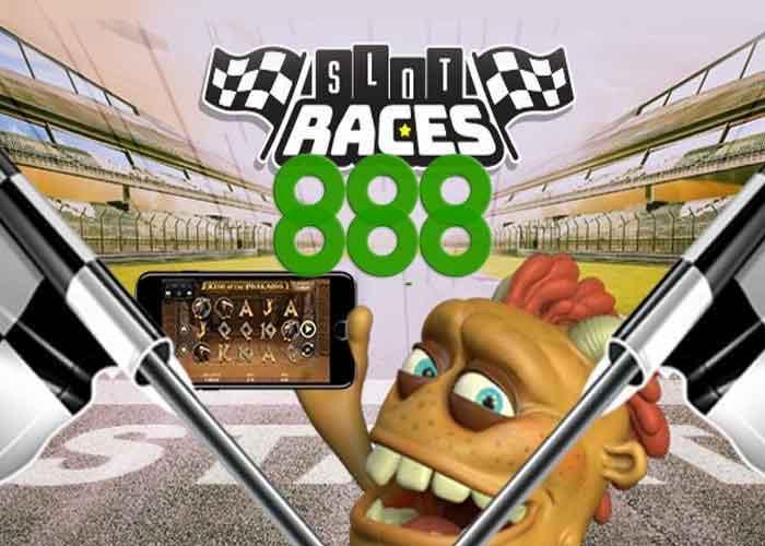 888 casino slot races