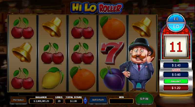 Hi Lo roller slot