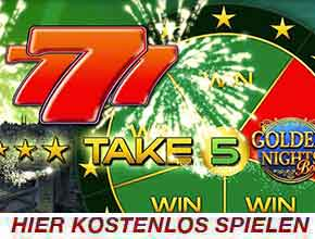 take 5 golden night slot