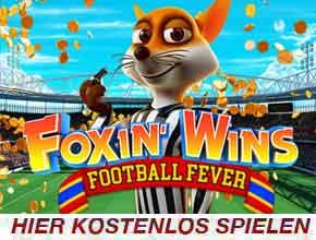 Foxin Win Football Fever Slot
