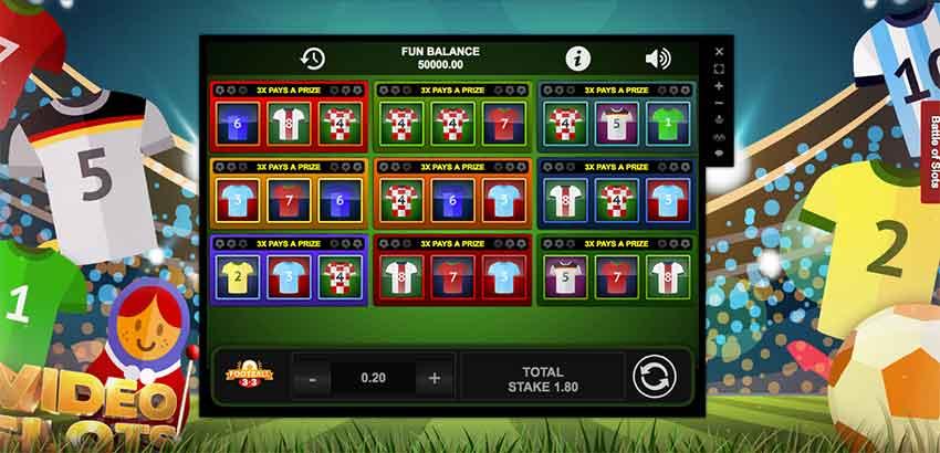 Football 3x3 Slot